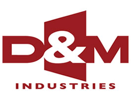 D & M Industries Logo